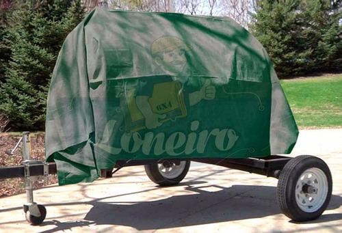 encerado 12x8 lona algodão caminhão menor preço frete grátis