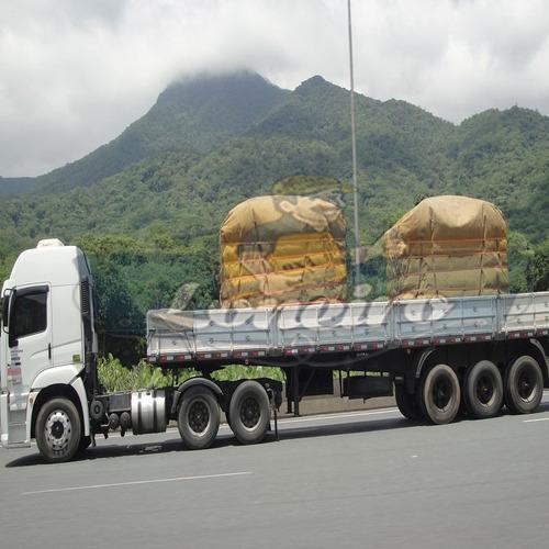 encerado caminhão,fio nº 08 lona 100 % algodão 11x6 + corda