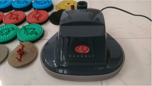 enceradora, brilladora y lavatapetes lux b95 classic