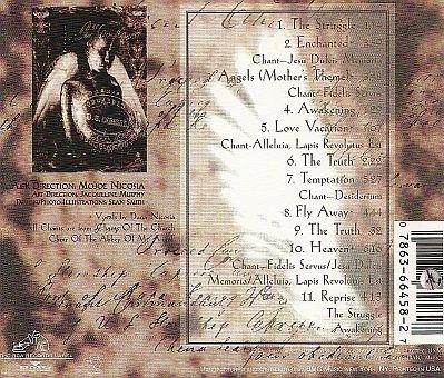 enchanted - enchanted cd importado impecable techno gothrock