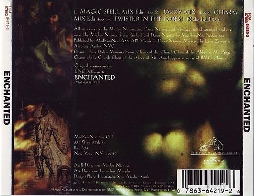 enchanted - enchanted cd single c/ mixes importado c/ nuevo