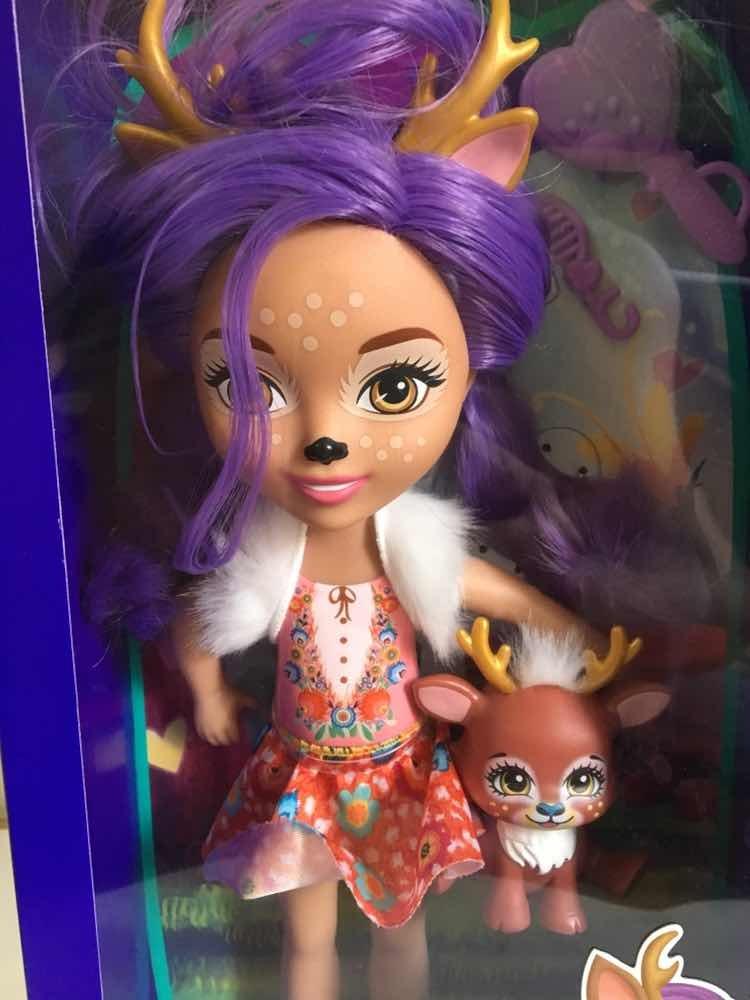 b5233bedbbf Enchantimals Danessa Deer Y Sprint 33 Cms De Alto Mattel - S/ 99,00 ...