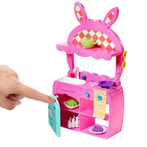 enchantimals kitchen fun playset bree bunny doll y twist fig