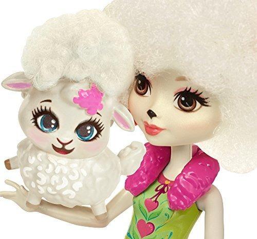 enchantimals lorna lamb doll and flag