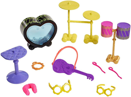 enchantimals zorrillo set de música muñeca original