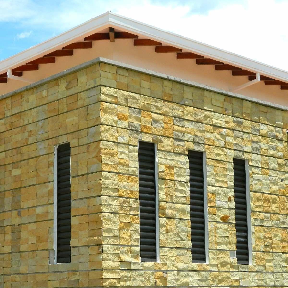 Enchapes de piedra natural para muros interiores for Piedra natural para exterior