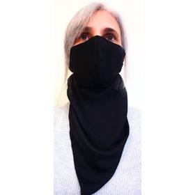 Encharpe Com Máscara