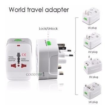 enchufe adaptador universal internacional de viaje nice home