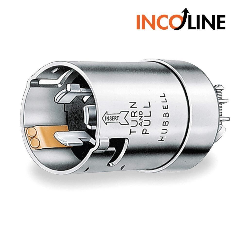 Enchufe Bloqueo Hubbell Wiring Device Kellems 144100 En Cargando Zoom