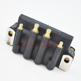Cable de Encendido Plomo Metal Montaje Terminal Hembra recta Enchufe de Chispa Bobina 10
