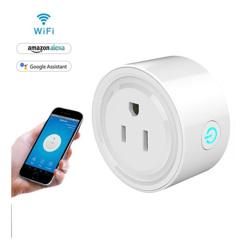 enchufe inteligente control con wifi por teléfono smart home