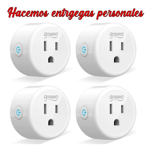 enchufe inteligente smart plug wifi 2.4ghz entregas personal