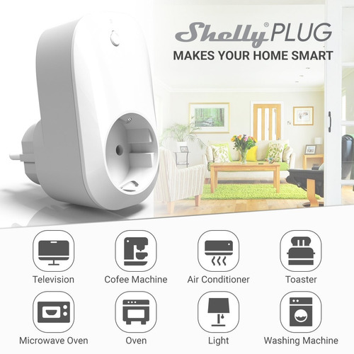 enchufe inteligente wifi shelly plug smart domótica