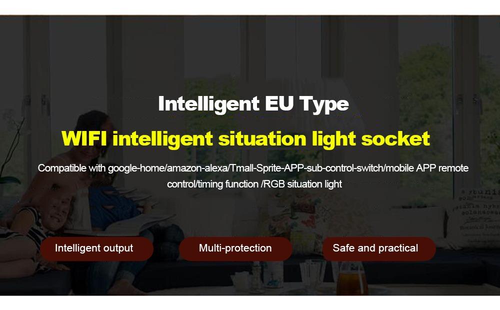 Enchufe Inteligente Wifi Socket Inteligente Tuya Smart Life