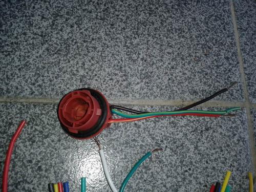 enchufe rele 5 patas de ceramica y demas conectores electric