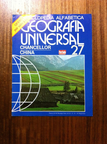 enciclopedia alfabetica geografia universal fasciculo nº27