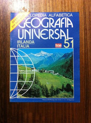 enciclopedia alfabetica geografia universal fasciculo nº51