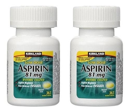 enciclopedia aspirin de 81mg 365 cap