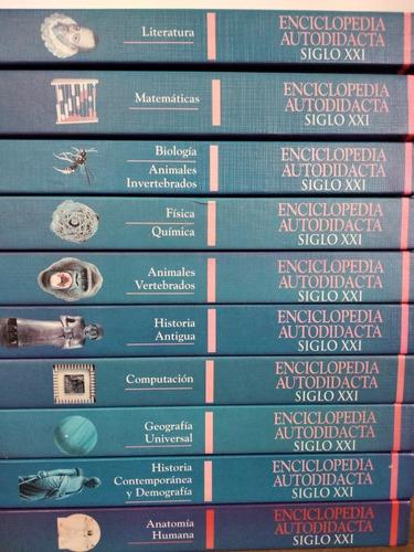 enciclopedia autodidacta siglo xxi 10 tomos