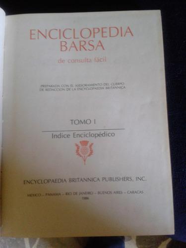 enciclopedia barsa 1 tomo.