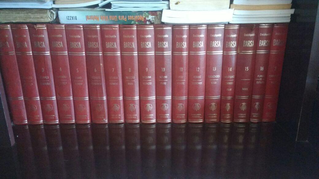 enciclopédia barsa coleção completa 18 volumes. Carregando zoom. c156d0315d5e6