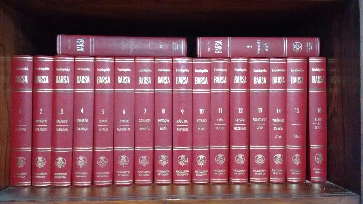 enciclopédia barsa - coleção completa. Carregando zoom. ca4396e72f1b7