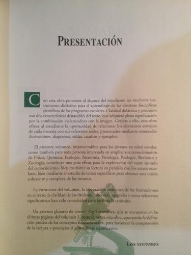 enciclopedia basica del estudiante fisica quimica biologia