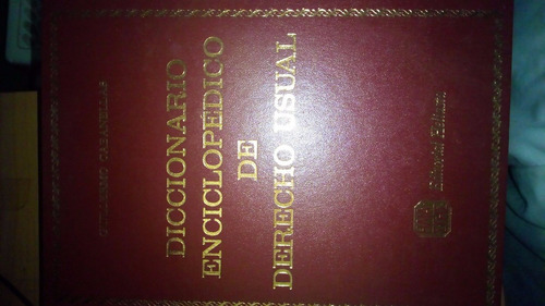 enciclopedia cabanellas 8 tomos