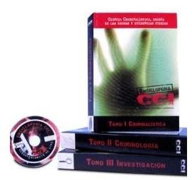 enciclopedia cci criminalística criminología e investigacion
