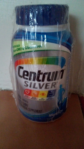 enciclopedia centrum silver vitaminas para hombres +50