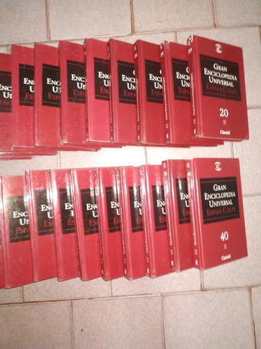 enciclopedia clarin completa del 1-40