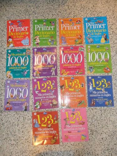 enciclopedia. colección bilingue. 14 libros. infantil