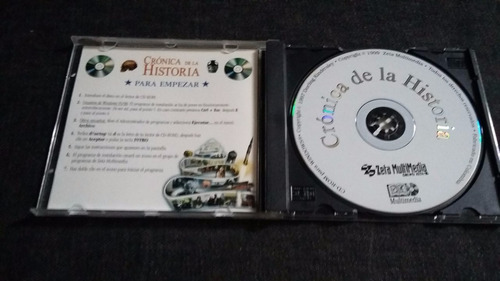 enciclopedia cronica de la historia cd multimedia