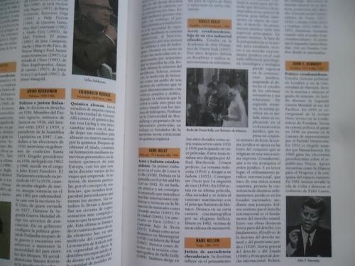enciclopédia de biografias a color