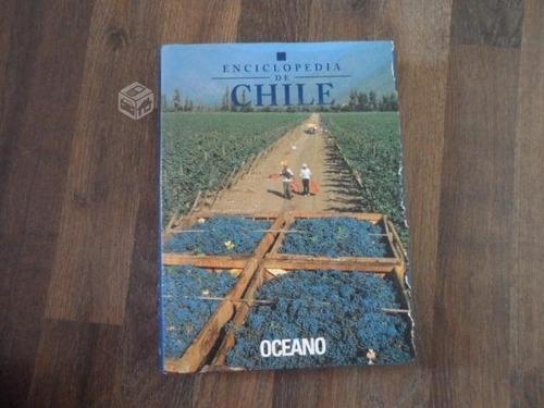 enciclopedia de chile, editorial océano