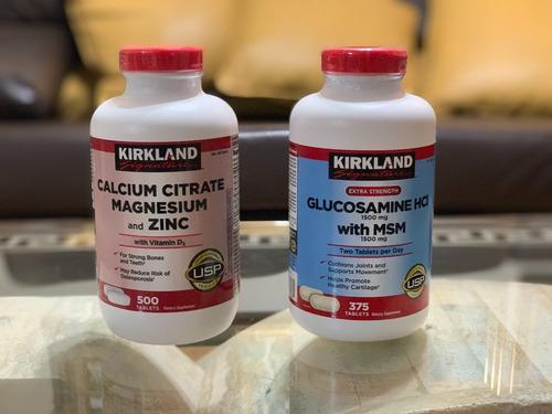 enciclopedia de glucosamina citrato de calcio magnesio zinc