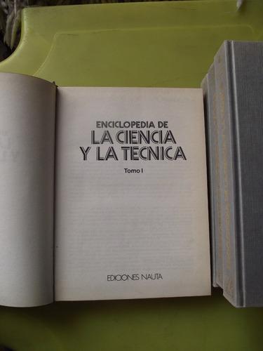 enciclopedia de la ciencia y la técnica, 4 tomos