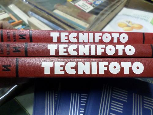 enciclopedia de la fotografía, tecnifoto, 3 tomos