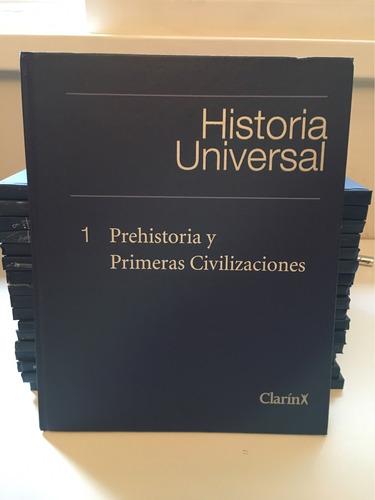 enciclopedia de la historia universal. 18 tomos en mb estado