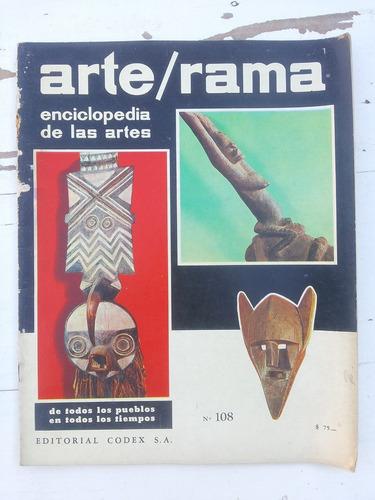 enciclopedia de las artes arte rama (n° 101, 107 y 108)