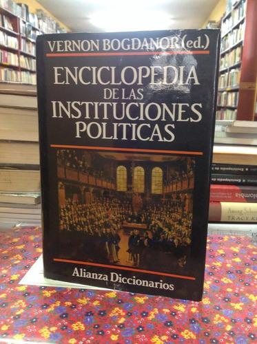 enciclopedia de las instituciones políticas. vernon bogdanor