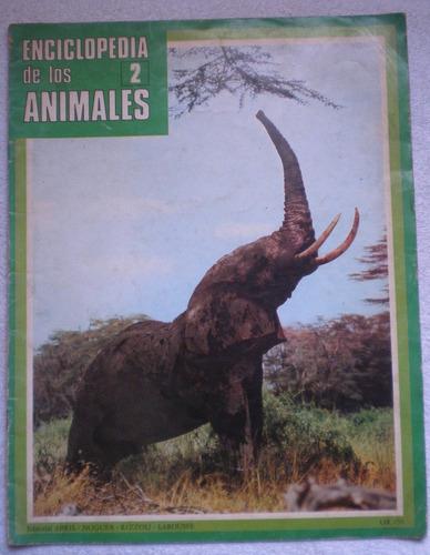 enciclopedia de los animales fascículo nº2 ed abril larousse