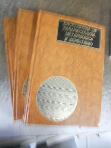 enciclopédia de parapsicologia 3 volumes