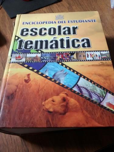 enciclopedia del estudiante escolar tematica