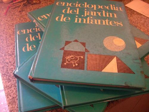 enciclopedia del jardin de infantes /5 tomos/ gabarini/ rot
