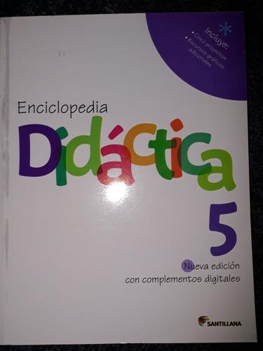 enciclopedia didactica 5 santillana