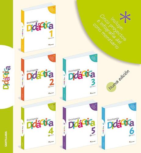 enciclopedia didactica de edit santillana del 1 al 6