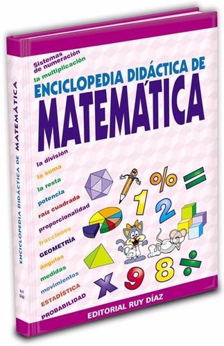 enciclopedia didáctica  de matematica en la egb