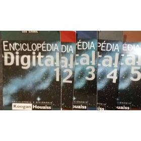Enciclopédia Digital - Estadão - 5 Cd Rom + 5 Livretos A-z