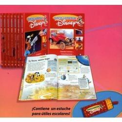 enciclopedia disney 8 vols + lapicera planeta agostini